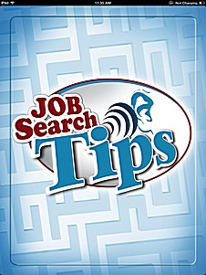 job search tips for iPhone, iPad, Android